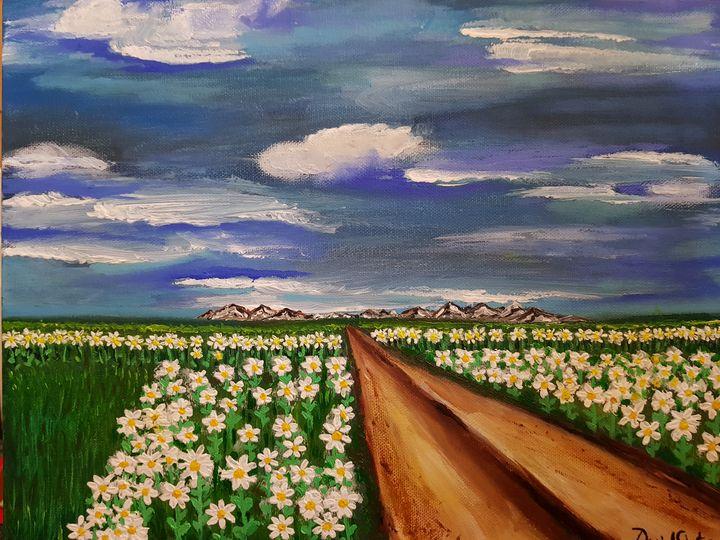 Field of flowers - Daniela Ciutan