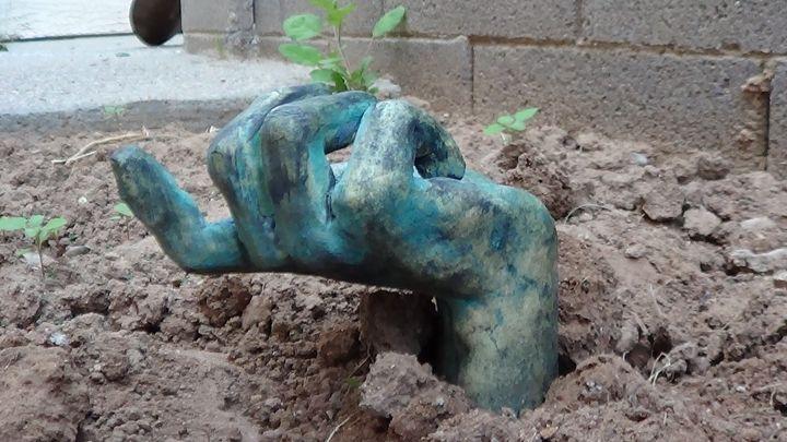 zombie hand - Ghannam