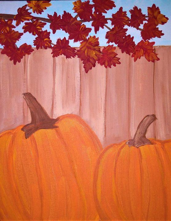 Fall Pumpkins - Morgan's Painted Originals