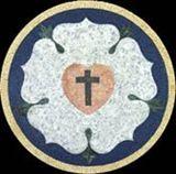 MD1000 Cross and heart flower shape