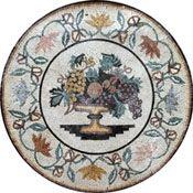 Fruit Vase Mosaic - Mosaic Marble gallery