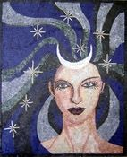 Blue Lady - Mosaic Marble gallery