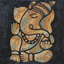 Ganesha Elephant - Mosaic Marble gallery