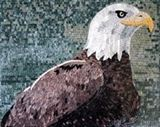 Eagle head mosaic