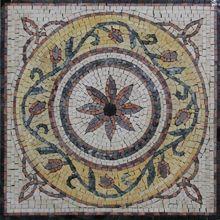 Square mini rug floor - Mosaic Marble gallery