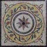 Square mini rug floor