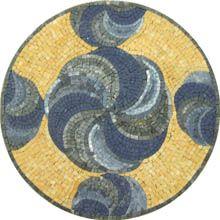 Aurora mosaic - Mosaic Marble gallery