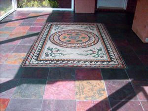 Coloreful Mosaic carpet