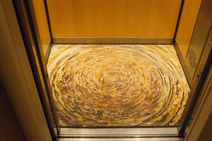 Mosaic Elevator - Mosaic Marble gallery