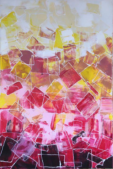 Ice cubes - Adnana Art