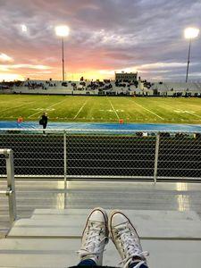 Football and Converse
