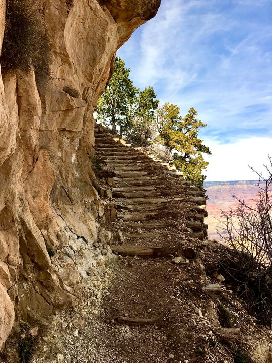 Stairs under Canyon - Every Day Pictures