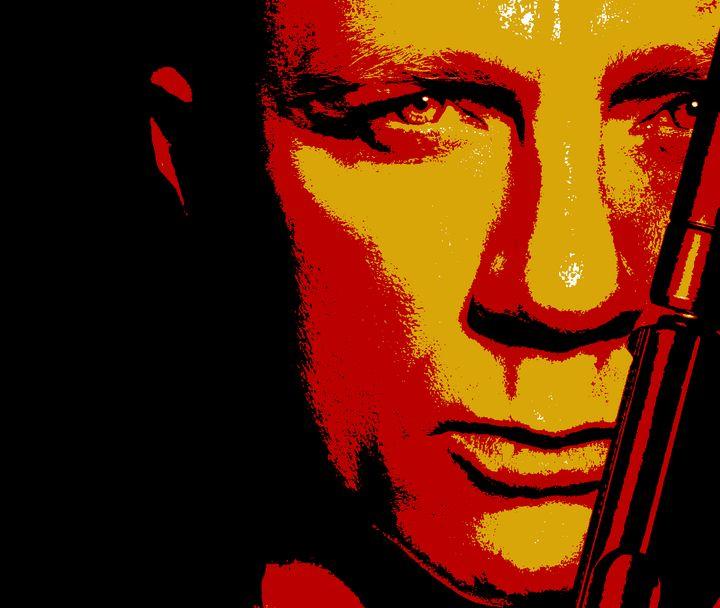 Stylized Bond Poster - Shae