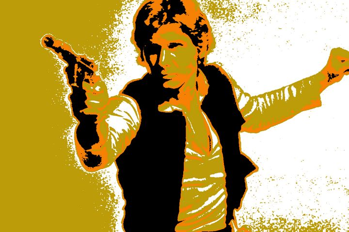Stylized Solo Poster - Shae