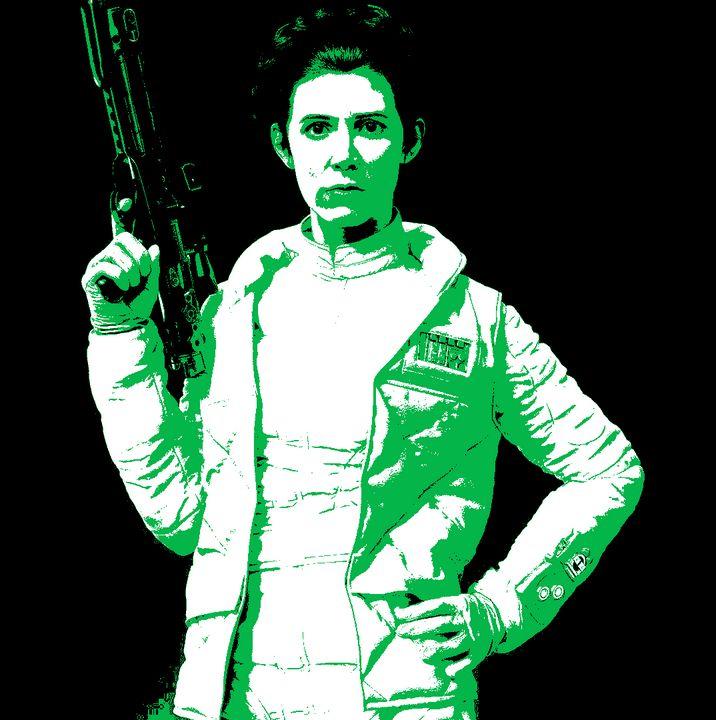 Stylized Leia Poster - Shae