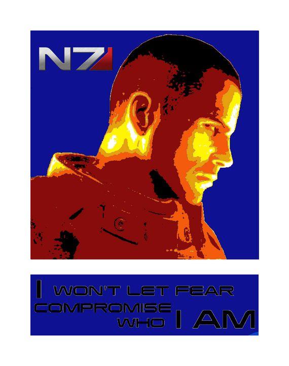 Mass Effect Poster - Shae