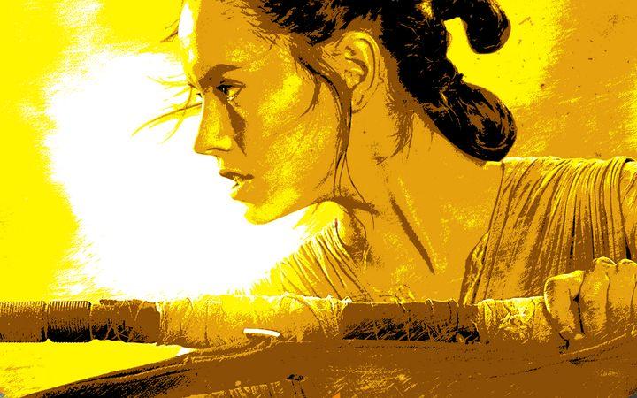 Stylized Rey Poster - Shae