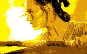 Stylized Rey Poster