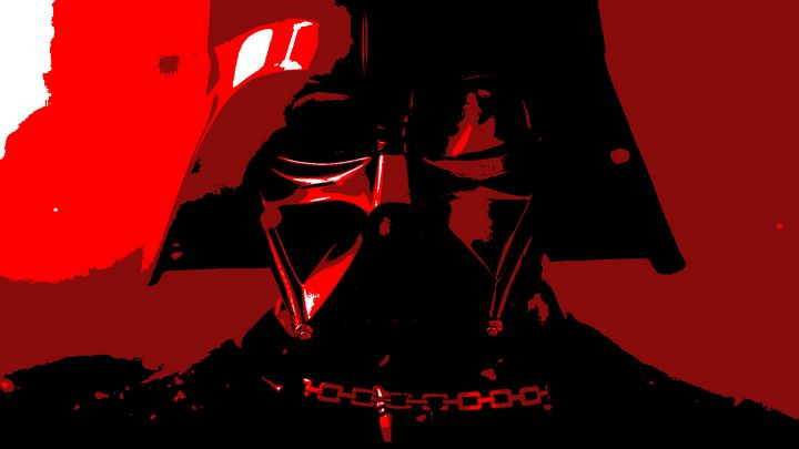 Stylized Vader Poster - Shae