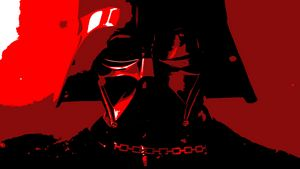 Stylized Vader Poster