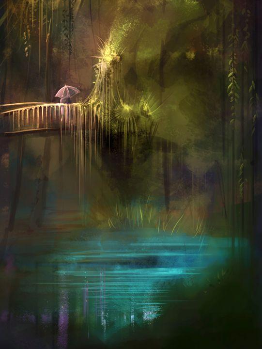 Bridge over water - Mrkyartwork