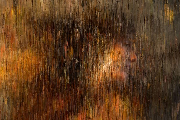 Woman Portrait in Gold Tones - alexmir