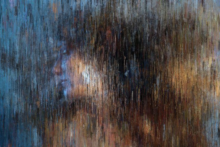 Woman Portrait In Blue Tones - alexmir