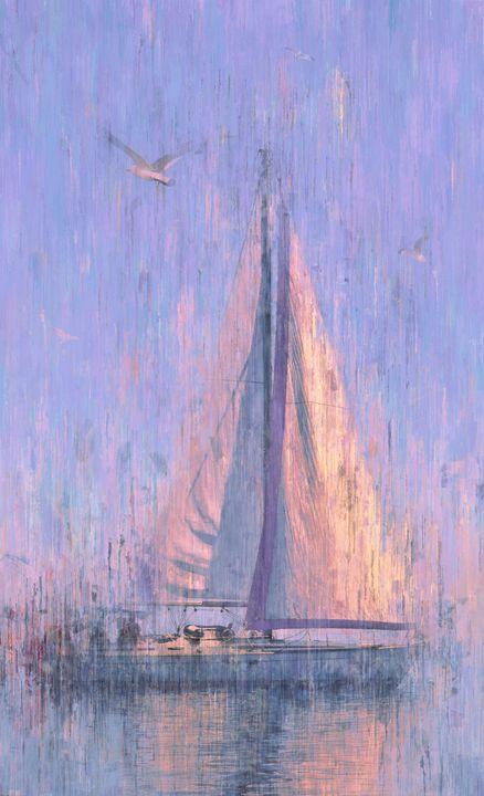 Sailboat at Dawn - alexmir