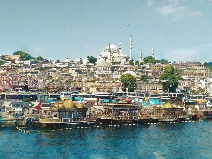 Istanbul. View from Galata Bridge. - alexmir