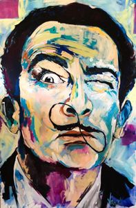 Salvador Dalí Canvas