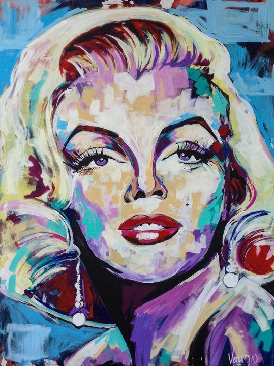 Marilyn Monroe Canvas - Vango