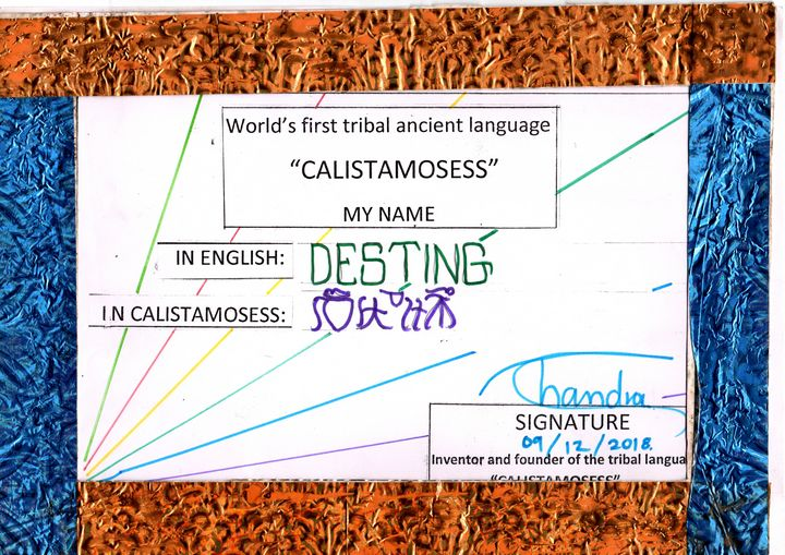 """""""DESTING"""" in """"CALISTAMOSESS - CALISTAMOSESS"""