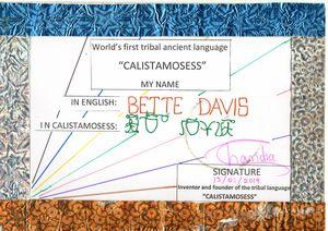 BETTE DAVIS in CALISTAMOSESS
