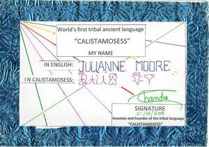 JULIANNE MOORE in CALISTAMOSESS