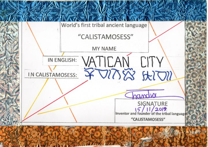 VATICAN CITY in CALISTAMOSESS - CALISTAMOSESS