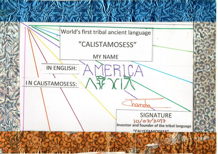 AMERICA in CALISTAMOSESS - CALISTAMOSESS