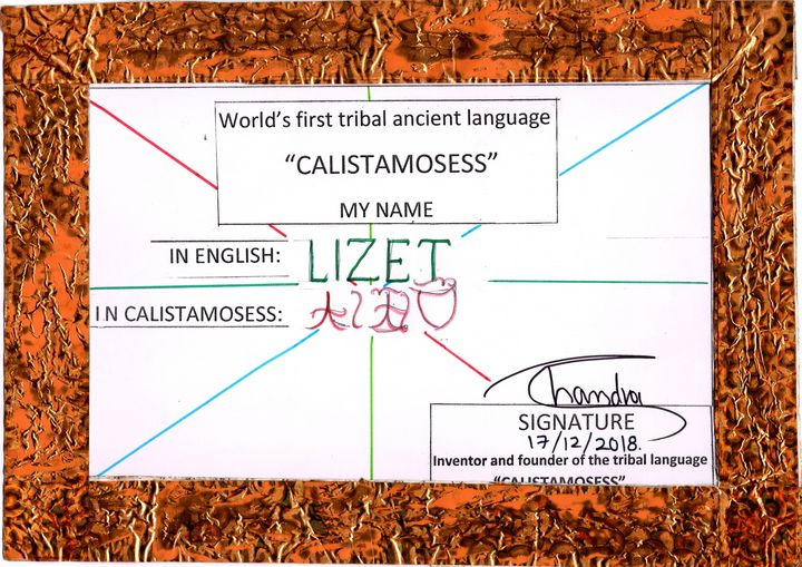 """""""LIZET"""" in CALISTAMOSESS - CALISTAMOSESS"""
