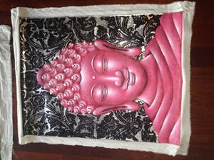 Buddha Painting acrylic on canvas