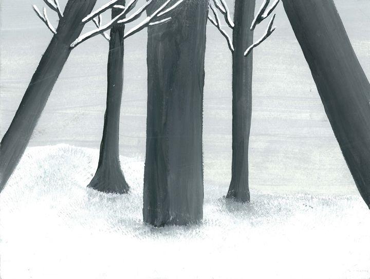 Winter Forest - Katara Gallery