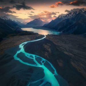 Mount cook National park New Zealand
