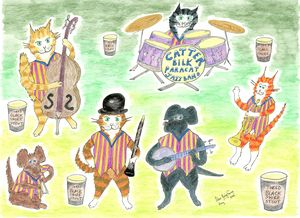 Catter Bilk's Paracat Jazz Band - Louisa's Ginger Nuts