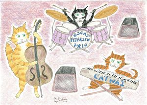 Oscar Peterson Cat Tribute
