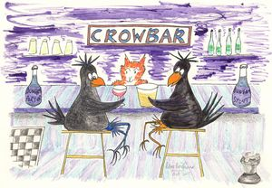 Chess in the CrowBar - Louisa's Ginger Nuts