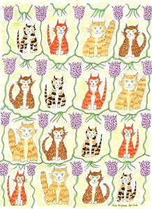 Ginger Nuts Fritillary Cats