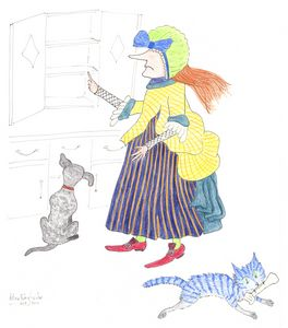MadCatWoman Does Old Mother Hubbard
