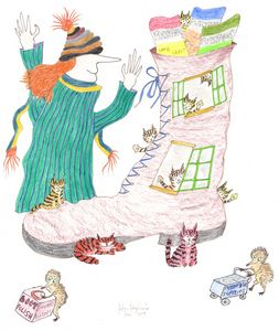MadCatWoman Lives in a Shoe