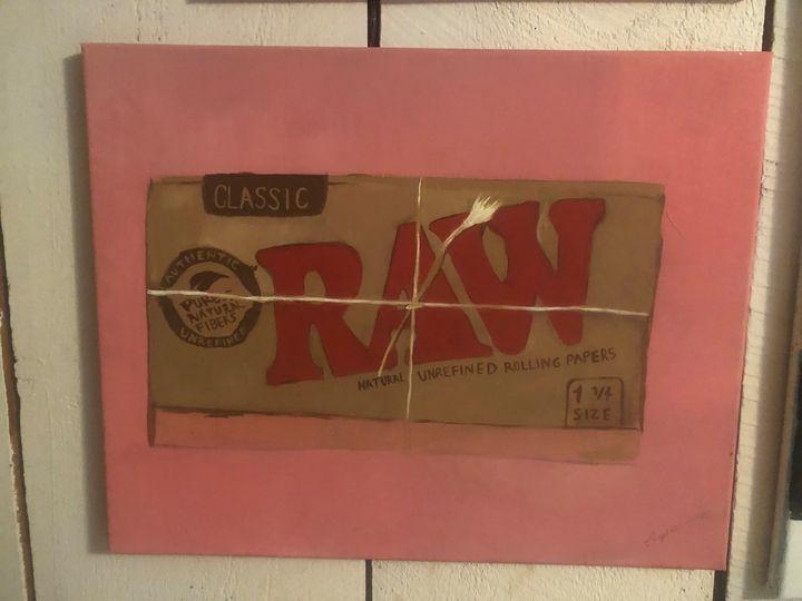 Raw Canvas - Dedgrlart