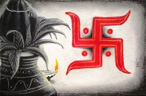 Kalash & Swastik