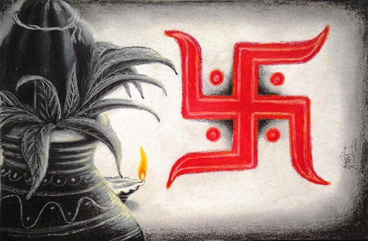 Kalash & Swastik - Arvind Gairola's collection of Art