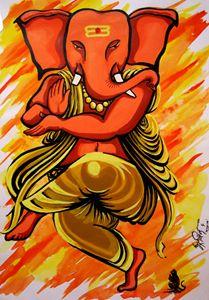 Ganesha - Dancing mood